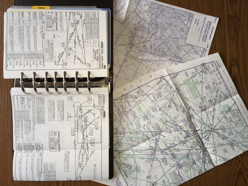 Jepessen mapy pro studium ATPL